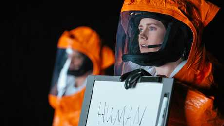 Amy Adams in a scene from the movie Arrival. Supplied by Roadshow Films.