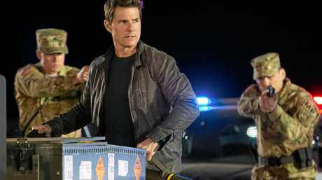 Tom Cruise in a scene from the movie Jack Reacher: Never Go Back. Supplied by Paramount Pictures.
