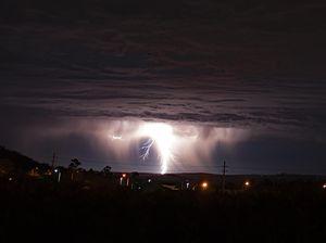 Monster storm photo: Lightning in Glenvale