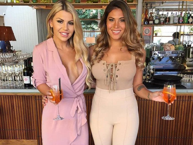 Former The Bachelor contestants Kiki Morris and Noni Janur are now living together in Bondi Beach.
