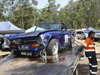 Accidents aplenty at Australia's toughest hillclimb in Noosa