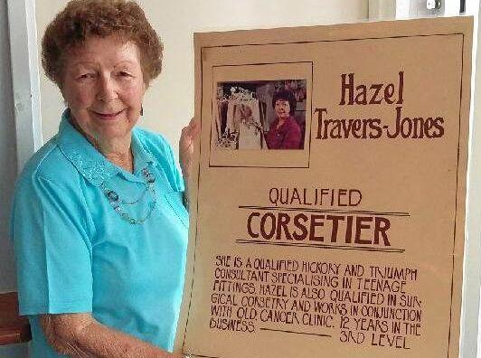 Hazel Travers-Jones worked as a corsetiere  in the early 70s.