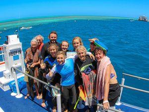People power blitzes reef