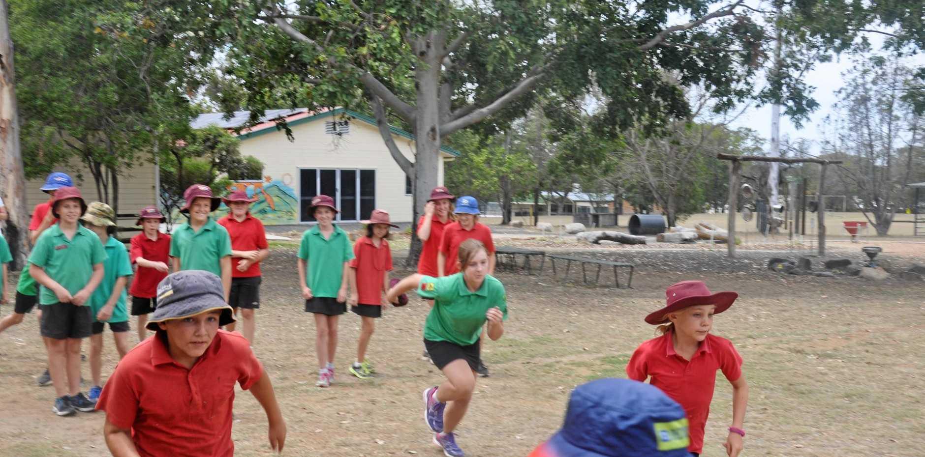 GO 'N' RUN: Monto kids run for fitness.