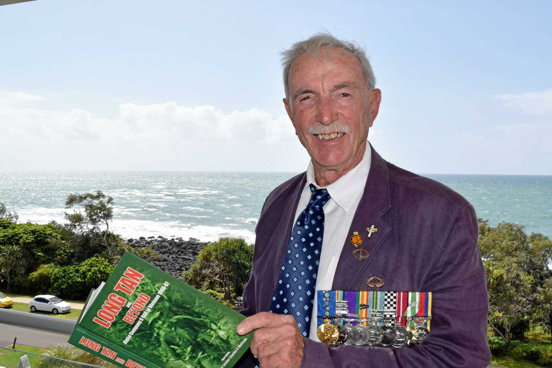 MISSION ACCOMPLISHED: Bargara Vietnam vet Frank Alcorta will receive a Medal of Gallantry for his efforts during the Battle of Long Tan.Photo Jim Alouat / NewsMail