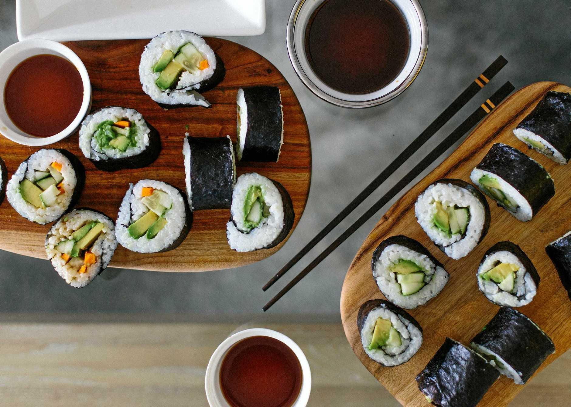 Simple sushi recipe.