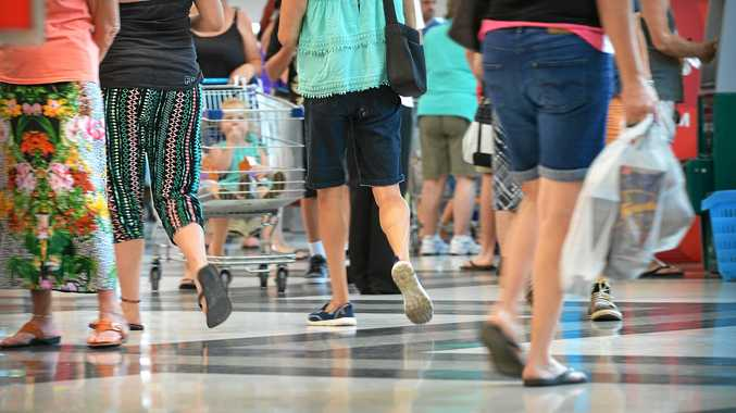Boxing day salesat Gympie Central. Photo Renee Albrecht/Gympie Times