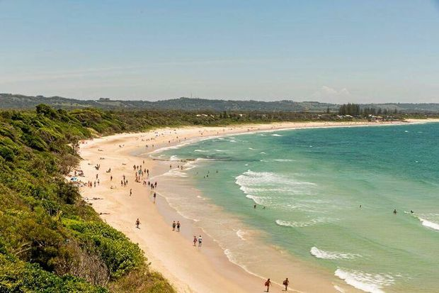 Almost all beaches in Australia are on Crown land.