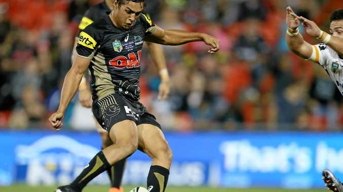 Penrith's Te Maire Martin could make his Kiwis debut against Scotland.