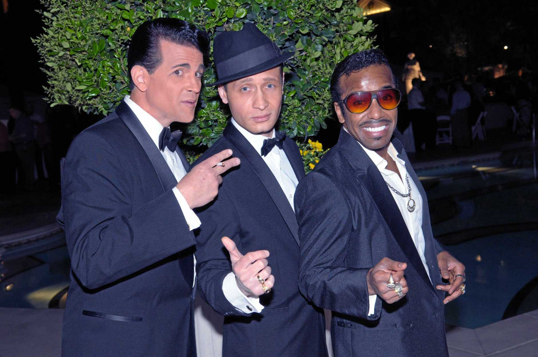 CROONERS FROM THE PAST: The Rat Pack from Vegas.