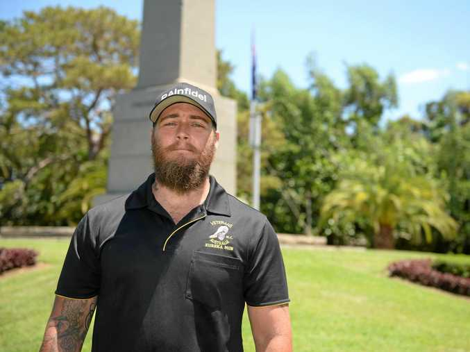 Dylan Fraser is an Afghanistan veteran who asked for the support group to be started due to struggling with mental health issues post war.