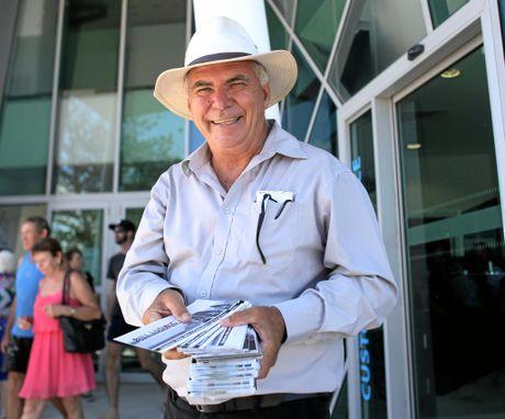 Livingstone Shire mayor Bill Ludwig.