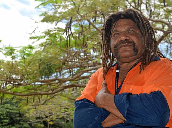 CHANGES NEEDED: Mackay and District Australian South Sea Islander Association's Starrett Vea Vea hopes for more commitments from government to his community.