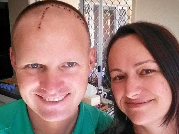 Karlee Robinson is walking from Caloundra to Noosa for her cousin Aaron Parker, who has terminal brain cancer.