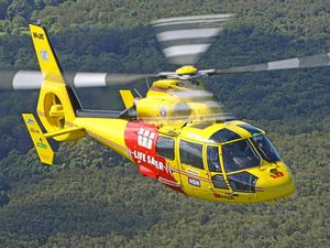 Woman airlifted to hospital after car rollover