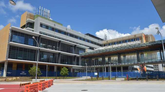 Preview for the opening of the new Sunshine Coast University Hospital at Kawana.