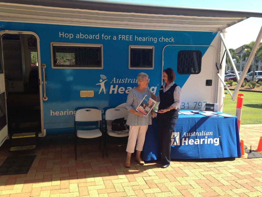 The Australian Hearing Bus will be in Moura from 9am to 3pm on November 10.