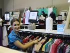 Hervey Bay resident Courtney Becht has a browse through items at Salvation Army Hervey Bay Store.