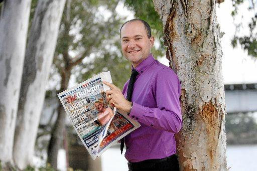 Capricornia Newspapers Pty Ltd media advertising manager Jens Kraeft.