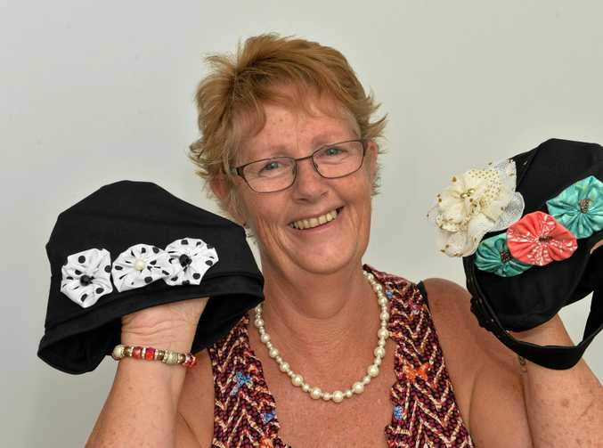 After Deb Branders husband recovered from cancer, she started making hats for women as her way of giving back.  Her hats are very popular, but she has run out of cash to continue making them for free.