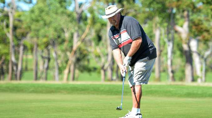 Neville Brooks competing in The Pines Yeppoon Capricorn Coast Invitational.