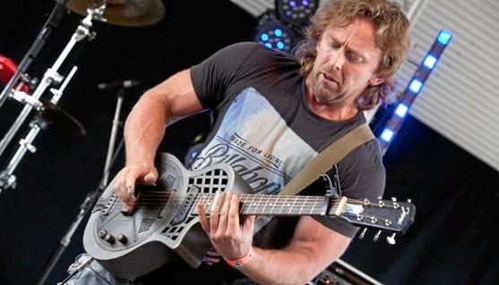 Adam Hole plays a mean guitar.