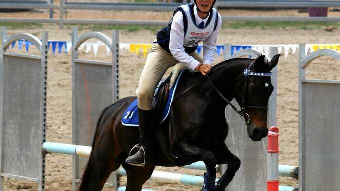 SUCCESS: Georgia Anderson riding Breezee.
