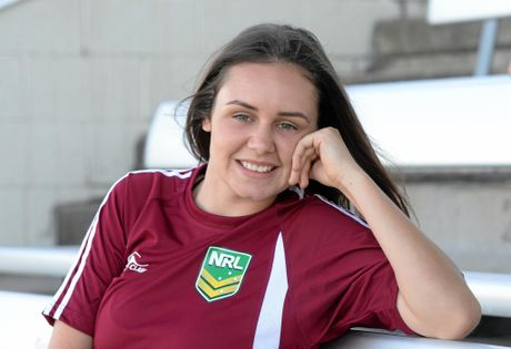 Rockhampton women's Rugby League star Nicole Collins just missed out on a Australian spot.