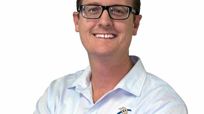Carl Carter, of Cooper McKenzie Marketing, is Gladstone Chamber of Commerce and Industry president.