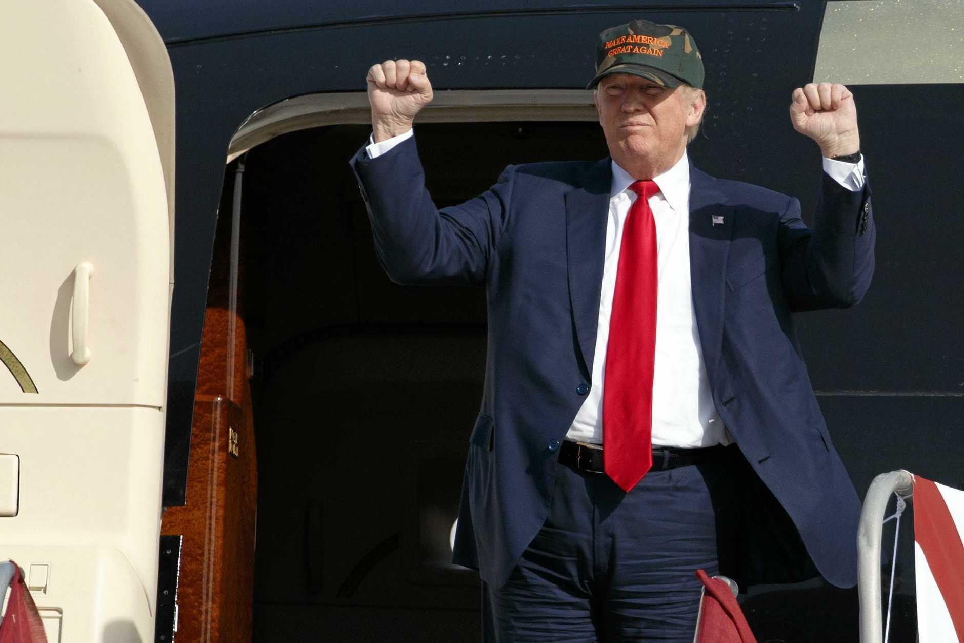 Republican presidential candidate Donald Trump.