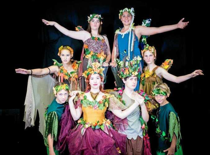 FAMILY ENTERTAINMENT: Acting Up seniors group will perform A Midsummer Night's Dream tomorrow.