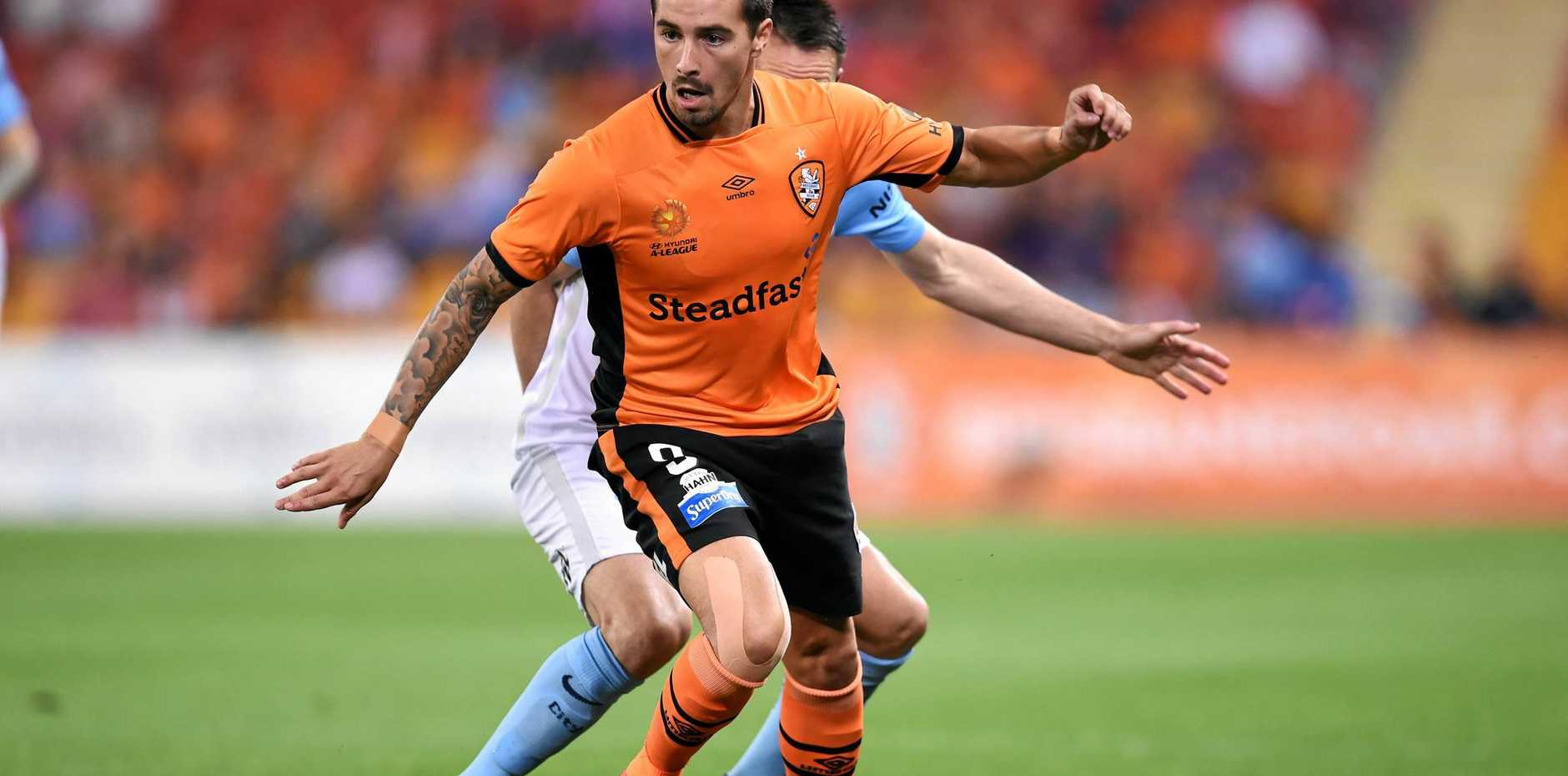 Jamie Maclaren will miss tomorrow night's A-League with Adelaide United.