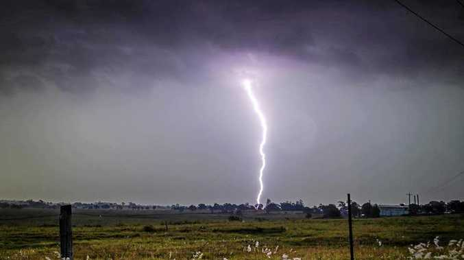 Photo from Dee at North Coast Storm Chasers. \