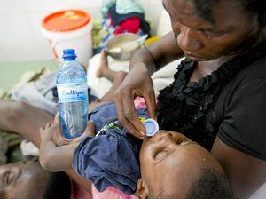 Haiti launches attack on cholera