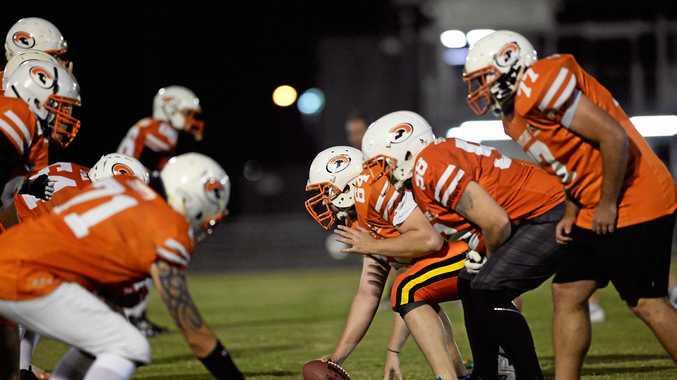TRAINING: The Sunshine Coast Spartans men's team prepares for the playoffs.
