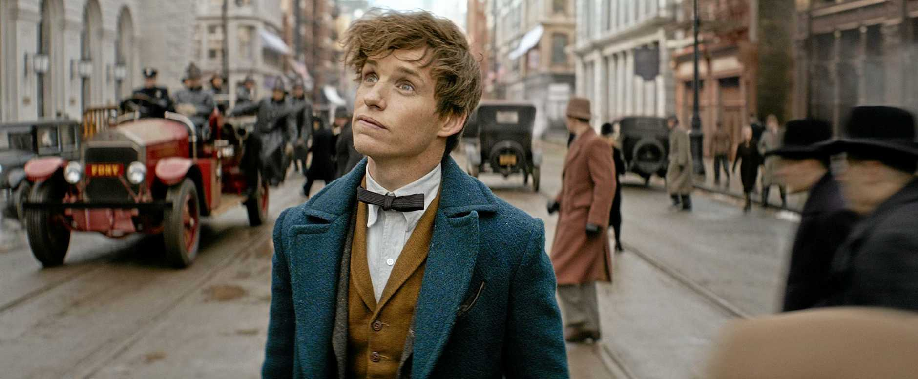 Eddie Redmayne in Fantastic Beast and Where To Find Them.