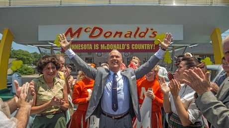 Michael Keaton in a scene from the movie The Founder. Supplied by Roadshow Films.
