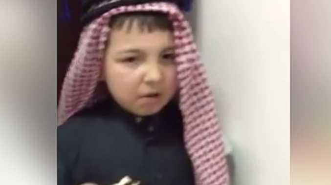 Saudi Arabian kids try Vegemite for the first time.