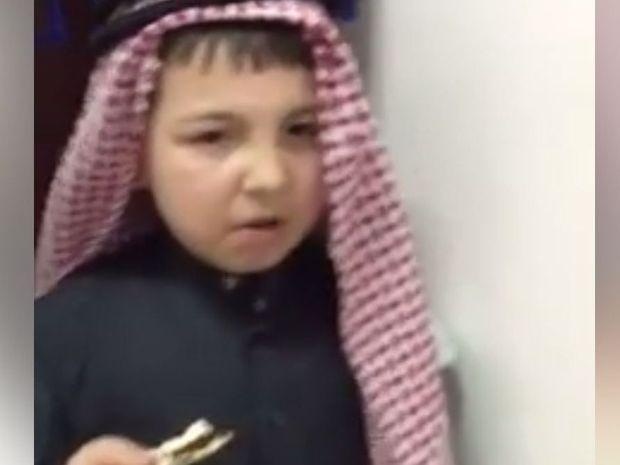 Saudi Arabian kids try Vegemite for the first time.