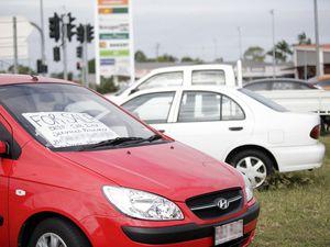 Roadside car sellers are risking heavy fines