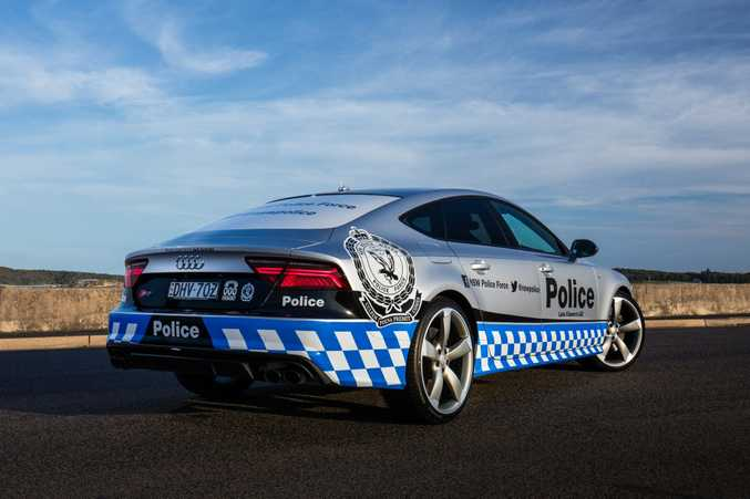 Audi S7 Sportback of the Lake Illawarra Local Area Command region of the NSW Police.