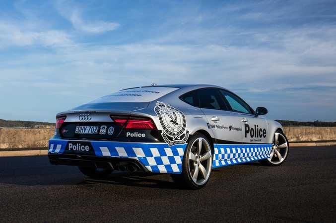Audi S7 Sportback of the Lake Illawarra Local Area Command region of the NSW Police.