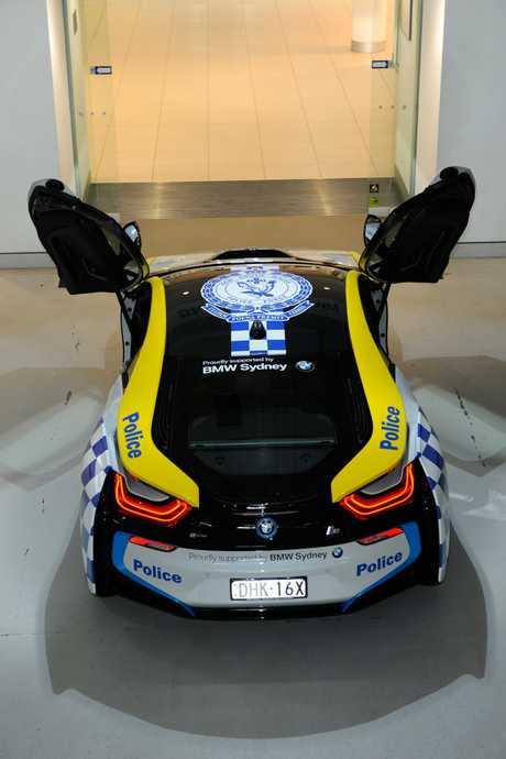 NSW's Rose Bay Police Squad's new BMW i8.