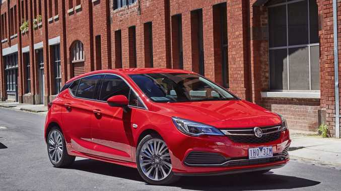 NEW COUSIN: The all-new five-door Holden Astra arrived a few months ago and is your hatchback option with more modern safety and infotainment.