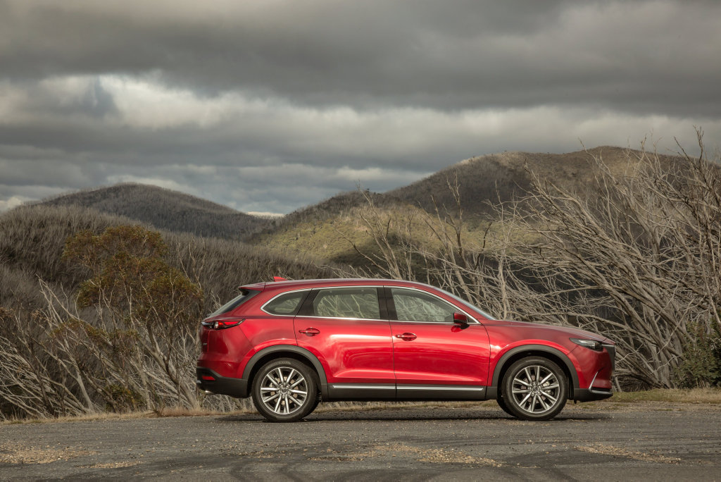 FAMILY FAVOURITE: The all-new Mazda CX-9 seven-seater is a superb all-rounder which does a fine impression of the only family car you'd ever need