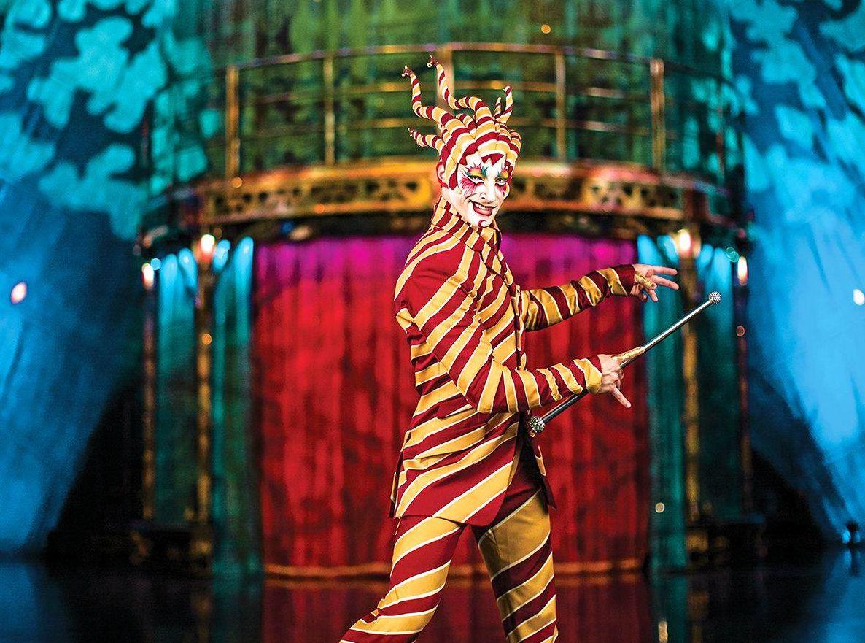 THE TRICKSTER: KOOZA by Cirque du Soleil.