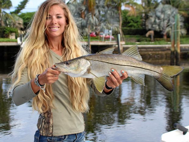 American fishing sensation Darcie Arahill helped promote conservation values at a major Queensland fishing event.