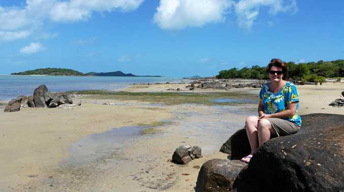 ISLAND LIFE: Former Sunshine Coast woman Corinne Deering now calls Badu Island, in the Torres Strait, her home.