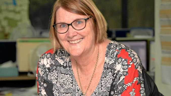 GOODBYE: Ros Coate after many years of service has retired from the Daily Mercury.