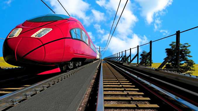 A high speed rail trip from Coffs Harbour to Sydney is expected to take about three hours.